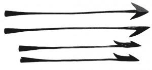 four harpoons