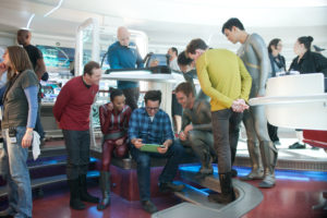 Happy Star Trek workers
