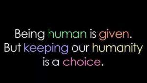 given human